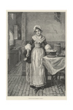 Come, Stir the Christmas Pudding! Giclee Print by George Adolphus Storey