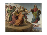 Christ Escapes the Pharisees Giclee Print by Friedrich Overbeck