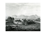 Peruvian Monument of Canar Giclee Print by Friedrich Alexander Humboldt