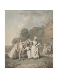 Children Dancing, 1798 Giclee Print by George Townley Stubbs