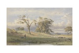Old British Camp in Bulstrode Park, 1860 Giclee Print by George Arthur Fripp