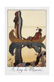 Le Long Du Missouri Giclee Print by Georges Barbier