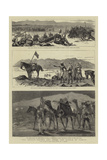 The Soudan, before and after the Battle of Tamasi Giclée-Druck von Frederic Villiers