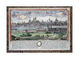 The City of Pavia and the River Ticino, C.1740 Giclee Print by Friedrich Bernhard Werner