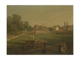 A Western View of Part of Westminster and Bird Cage Walk, from Mill House Giclee Print by George Arnald