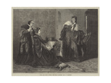 Lady Jane Grey's Victory over Bishop Gardiner Giclee Print by George Frederick Folingsby