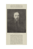 Mr E Burne-Jones Giclee Print by George Frederick Watts