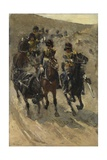 The Yellow Riders, 1885-86 Giclee Print by Georg-Hendrik Breitner