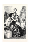 Grandmamma's Come! 1867 Giclee Print by George Housman Thomas