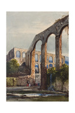 Women Beneath the Roman Aqueduct at Maddaloni Giclee Print by Giacinto Gigante