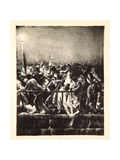The Crowd, 1923 Giclee Print by George Wesley Bellows