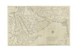 Map of India and Southeastern Asia; Il Disegno Della Terza Parte Dell'Asia, 1561 Giclee Print by Giacomo Gastaldi