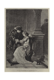 Henry VIII, and Anne Boleyn Giclee Print by George Frederick Folingsby