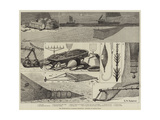 The International Fisheries Exhibition, Articles of Fishing Gear Giclee Print by George Henry Andrews