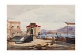 The Port at Gaeta Giclee Print by Giacinto Gigante