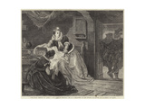 The First Meeting of James I with Anne of Denmark Giclee Print by George Frederick Folingsby