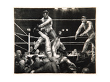 Dempsey and Firpo, 1923-24 Giclee Print by George Wesley Bellows