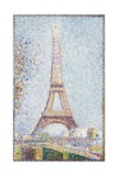 The Eiffel Tower, 1889 Giclee Print by Georges Seurat