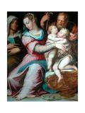 Holy Family with St John Giclee Print by Giorgio Vasari