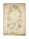 The Holy Ghost, 1680s Giclee Print by Giacinto Brandi