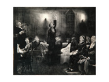 Prayer Meeting, 1916 Giclee Print by George Wesley Bellows