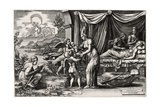 Allegory of Birth 1560, 1500 (1558) Giclee Print by Giorgio Ghisi