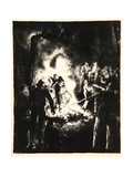 The Law Is Too Slow, 1923 Giclee Print by George Wesley Bellows