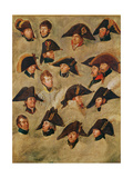 Generals of the Camp De Boulogne Giclee Print by Gerard van der Puyl