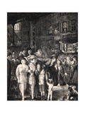 The Street, 1917 Giclee Print by George Wesley Bellows