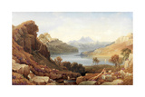 A Loch in Argyll Giclee Print by George Fennel Robson