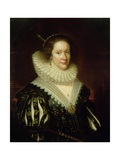 Lady Mary Erskine, Countess Marischal, 1626 Giclee Print by George Jamesone