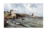 Return to Port Giclee Print by Giuseppe Carelli