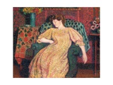 Endormie, or La Sieste, C.1906 Giclee Print by Georges Lemmen