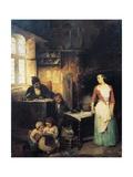 Schoolmaster, 1855 Giclee Print by Gerolamo Induno