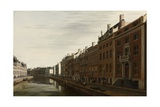 The 'Golden Bend' in the Herengracht, Amsterdam as Seen from the West, 1672 Giclee Print by Gerrit Adriaensz Berckheyde