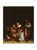 The Sleeping Soldier, C.1656-57 Giclee Print by Gerard ter Borch