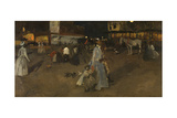 An Evening on the Dam of Amsterdam Giclee Print by Georg-Hendrik Breitner