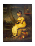 Zoe De Bellecourt, C.1825 Giclee Print by George Watson