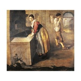 The Laundress Giclee Print by Giacomo Ceruti