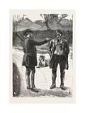 The Gamekeeper. Hunt, Hunting, 1876, UK Giclee Print by George John Pinwell
