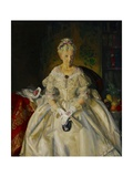 Mrs. T. in Cream Silk, No.2, 1920 Giclee Print by George Wesley Bellows