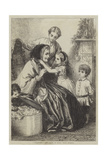 Grandmamma's Come! Giclee Print by George Housman Thomas