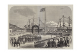 The Progress of the Prince of Wales in British North America, His Royal Highness Landing at Halifax Giclee Print by George Henry Andrews