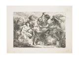 Abraham Sacrificing Isaac Giclee Print by Giambattista Mengardi