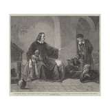 John Bunyan Reciting 'The Pilgrim's Progress' to His Friends in Bedford Gaol Giclee Print by George Frederick Folingsby