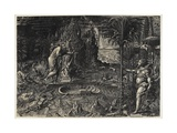 Allegory of Life (The Dream of Raphael), 1561 Giclee Print by Giorgio Ghisi