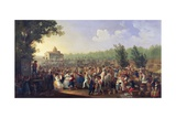 Neapolitan Festival of Madonna Dell'Arco Giclee Print by Giacinto Gigante