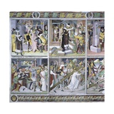 Passion of Christ, 1492 Giclee Print by Giovanni Canavesio