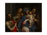 Madonna and Child with Saints John the Baptist, Mary Magdalene and Anne, C.1595 Giclee Print by Giuseppe Cesari