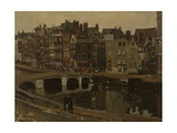 The Rokin in Amsterdam, 1897 Giclee Print by Georg-Hendrik Breitner